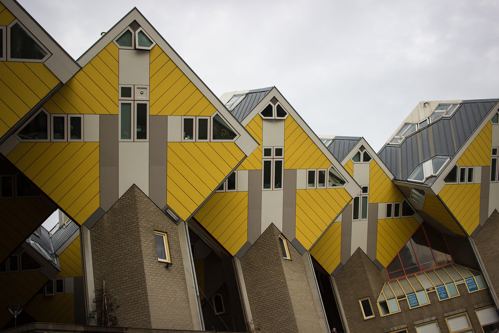 Cube Houses-One of the top attractions in Rotterdam