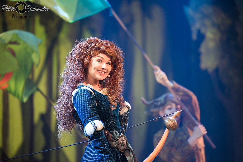 I am Merida ! I will rise, i will fly! Chase the wind and