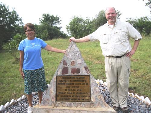KARUCO Groundbreaking Stone | by educate.tanzania