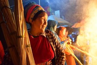 Fire Festival in Dali, Yunnan