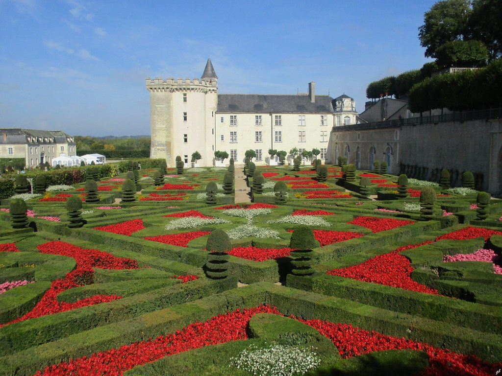 Le Jardin d\'Ornement, premier salon | Château de Villandry (… | Flickr