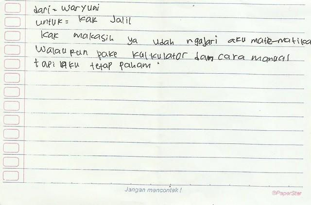 Pesan Wuryani