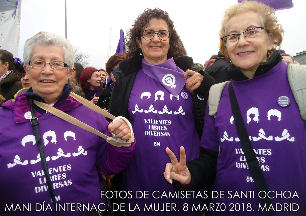 Mani Mujer 8 marzo 2018- Feminismo