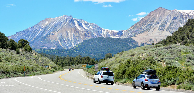 Heading for the Tioga Pass