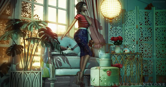 New Post: ∞Forever Twenty One∞ LOTD 529 Radiant Day...