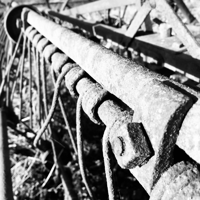 Old FAHR agricultural machine