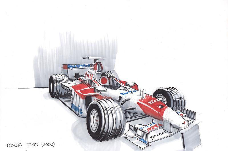 Toyota TF 102 (2002)