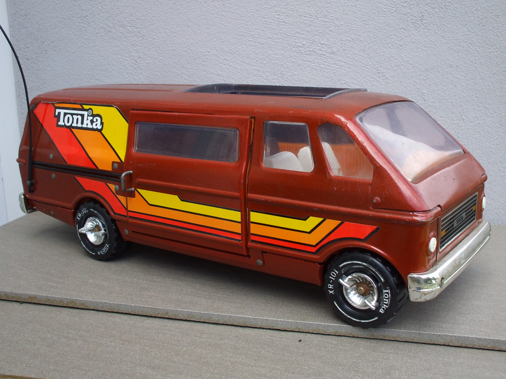 Tonka Van Vintage Retro