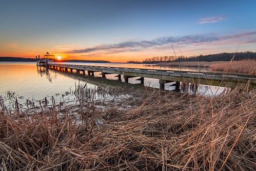 marshypointnaturecenter sunsetorrise water pier