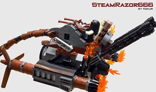 SteamRazor666 13 Wings Geometry Bar 03 | by kocurvelox