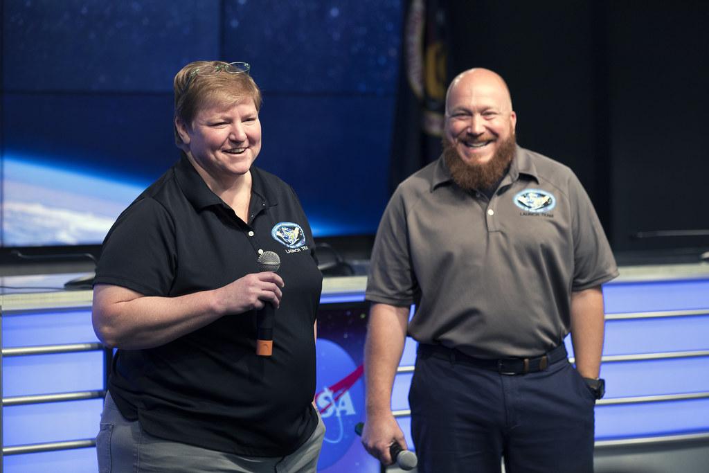 GOES-S NASA Social: Pam Sullivan and A.J. Sandora
