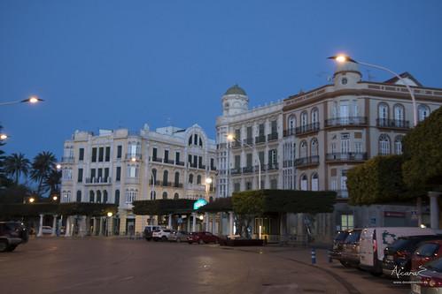 Amanece en Melilla