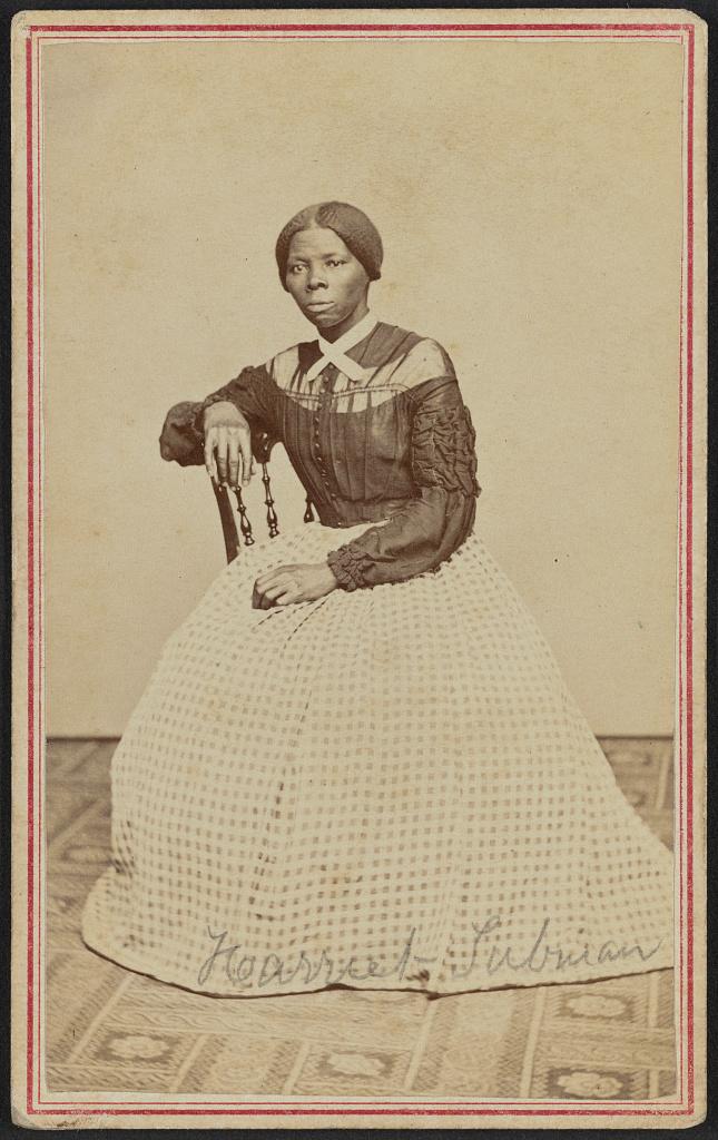[Portrait of Harriet Tubman] (LOC)