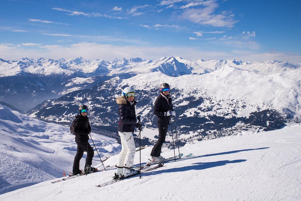 Interlaken-Skiing