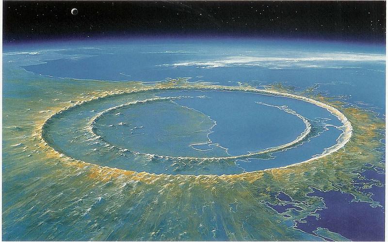 Modelisation du Cratere de Chicxulub