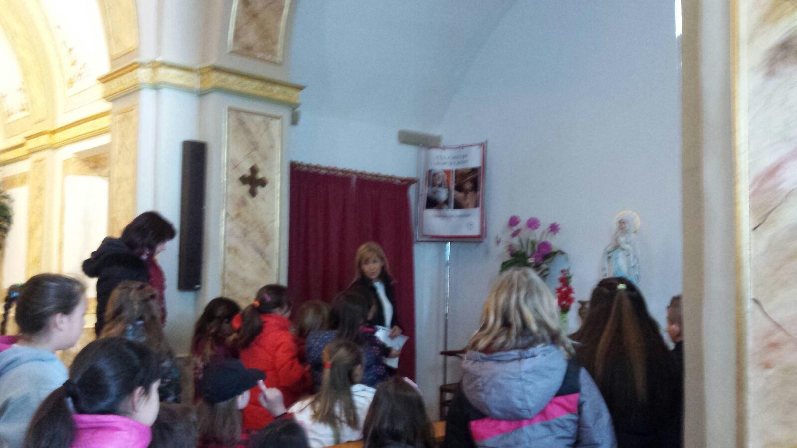 (2018-03-22) - Visita ermita alumnos Laura,3ºC, profesora religión Reina Sofia - Marzo -  María Isabel Berenguer Brotons (12)