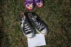 For all the kids, Alyssa Milano. Capitol Lawn covered in 7000 pairs of shoes, one for every child killed since Sandy Hook, Washington DC