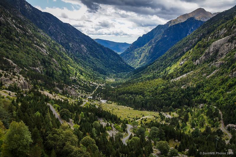 La Vall de Boí desde la Presa de Cavallers