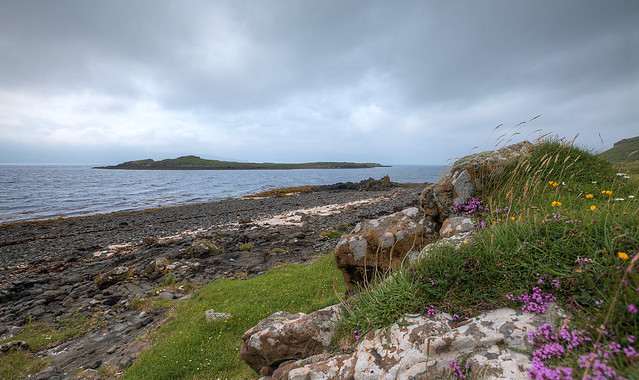 Lampay Island from Skye