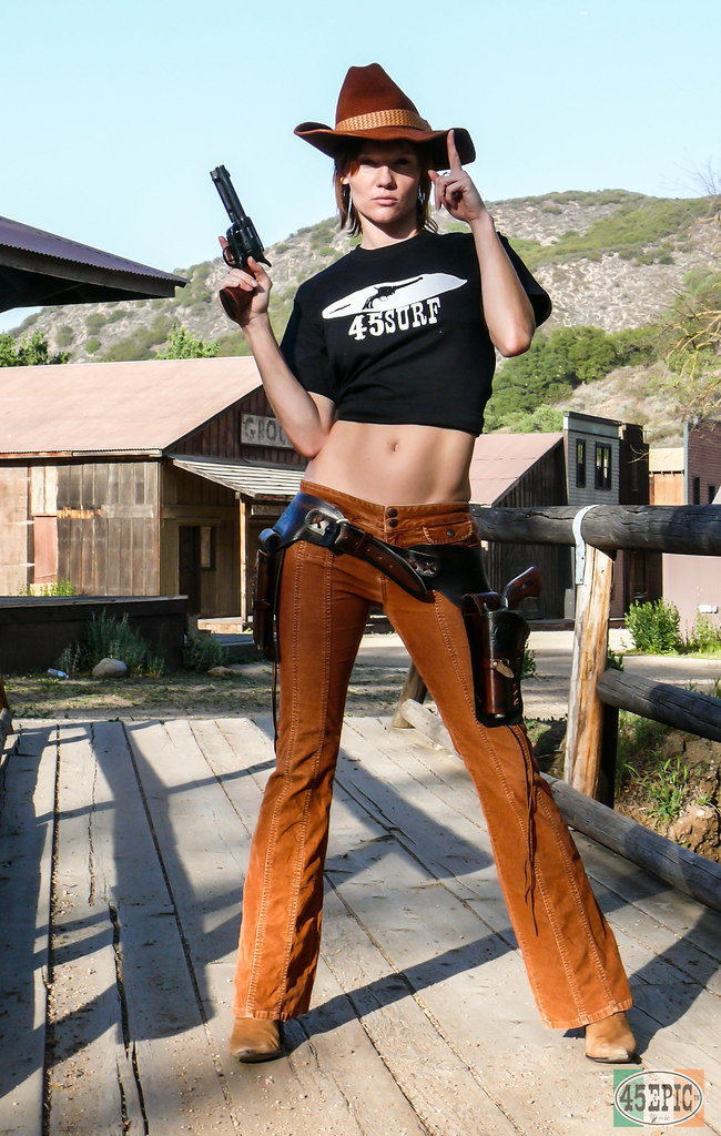 Pretty Redhead Cowgirl Model Goddess With Cowboy Hat Cowb