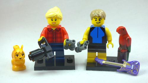 Brick Yourself Custom Lego Figure Birdwatching Couple | by BrickManDan