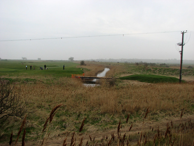 Golf course at Felixstowe Ferry
