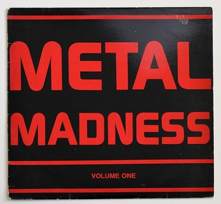 A0348 VA Various Artists Metal Madness Volume One - Periodic Review | by vinylmeister