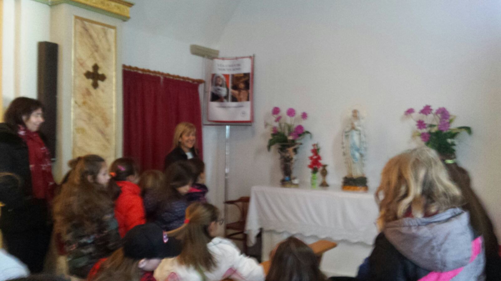 (2018-03-22) - Visita ermita alumnos Laura,3ºC, profesora religión Reina Sofia - Marzo -  María Isabel Berenguer Brotons (11)