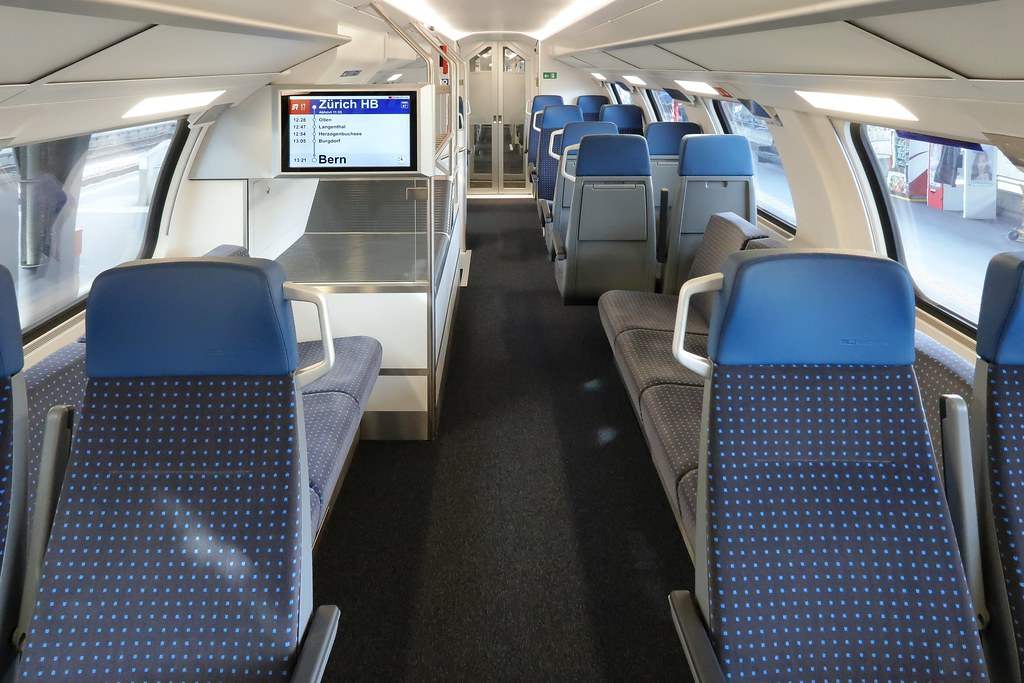 Bombardier Sbb Fv Dosto Rabe 502 Seven Lengthwise Seats