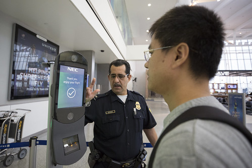 Biometric Facial Recognition at Houston International Airport