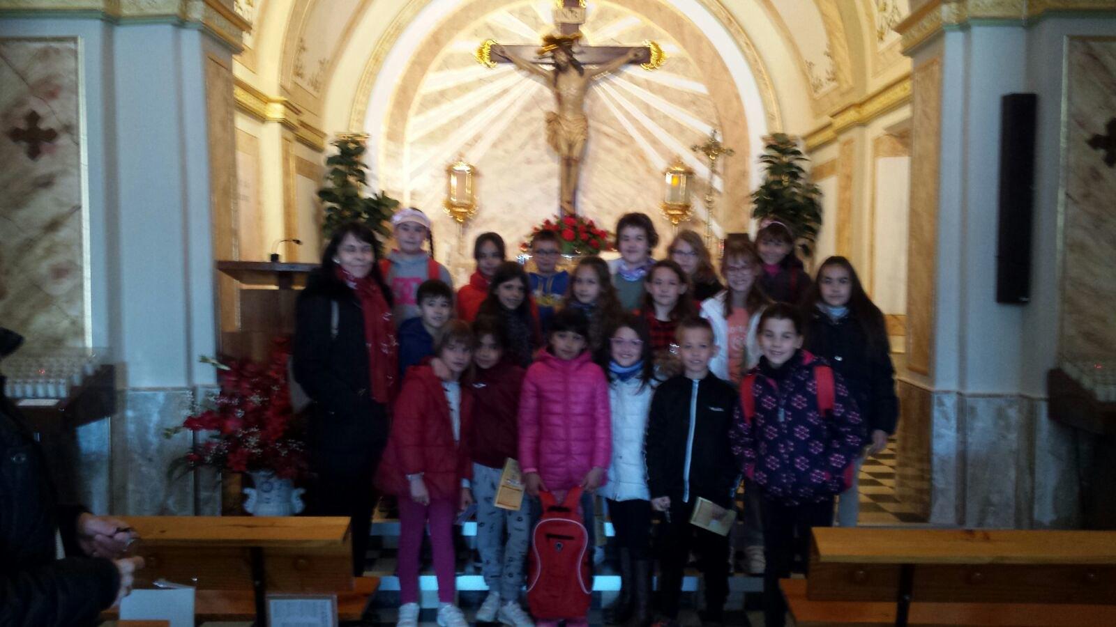 (2018-03-22) - Visita ermita alumnos Laura,3ºC, profesora religión Reina Sofia - Marzo -  María Isabel Berenguer Brotons (03)