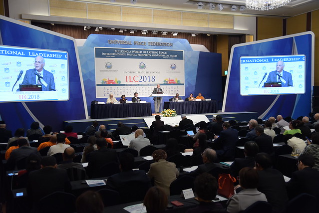 KOREA-2018-02-19-ILC2018-Session4-Perspectives on Building a World of Lasting Peace