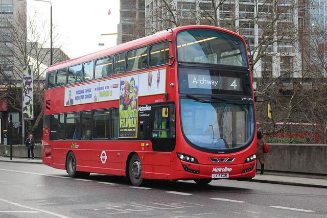 VWH2116 LK15CXR Metroline