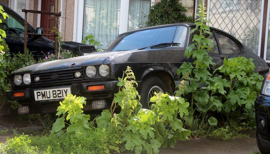 PMU 821Y | 1982 Ford Capri 2 0 S  Supplied by Dagenham Motor… | Flickr