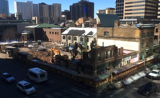 City Club apartments demolition Minneapolis 3-1-18 | by bapster2006