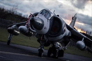 British Aerospace Harrier GR3 XZ991 | by Ian Garfield - thanks for over 2 million views!