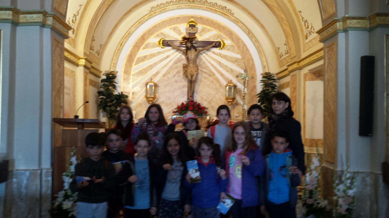 (2018-03-16) - Visita ermita alumnos Laura,3ºB, profesora religión Reina Sofia - Marzo -  María Isabel Berenguer Brotons (08)