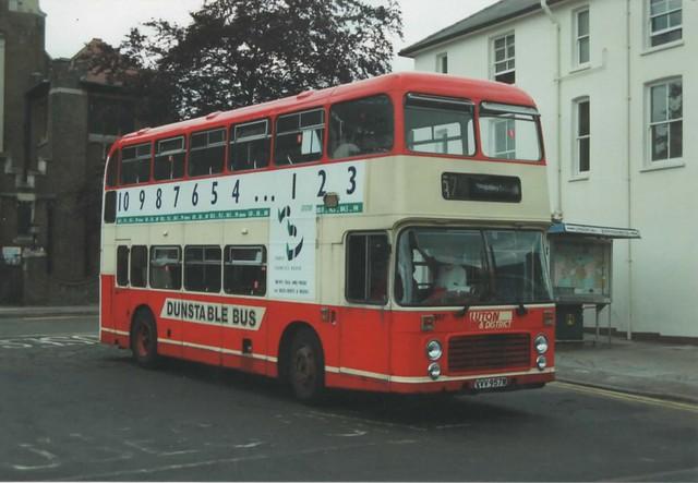 957, VVV 957W, Bristol VR, ECW Body H43-31F, 1981 (t.1992)
