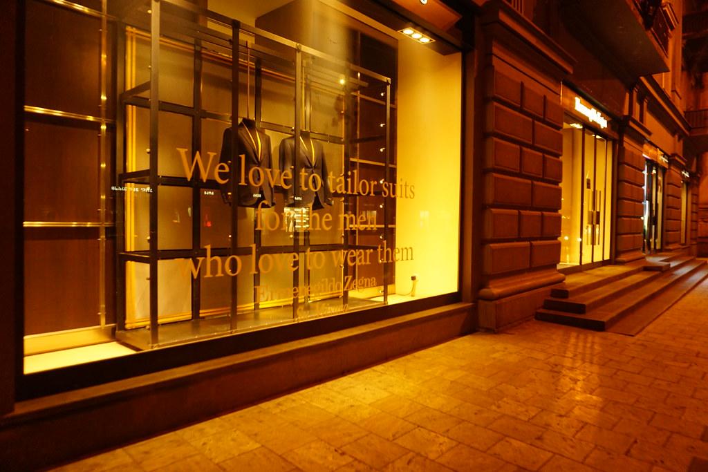 3eb6ffb37f Ermenegildo Zegna Boutique, Tbilisi, Georgia, by Night | Flickr