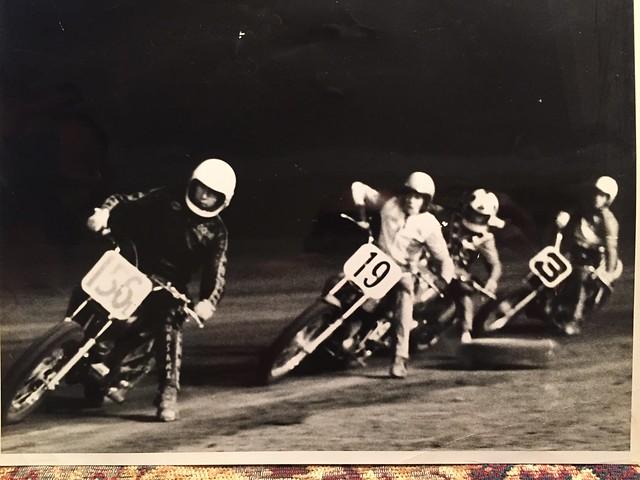 Woodie Wallace Racing flat track at Freemans Short Track Talladega, Alabama