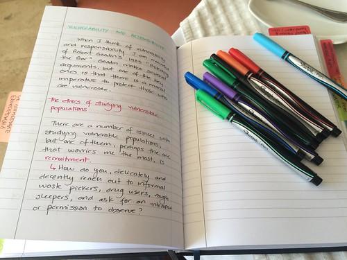 Working and writing everywhere