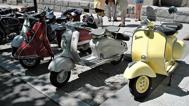 Scooters Vespa sixties