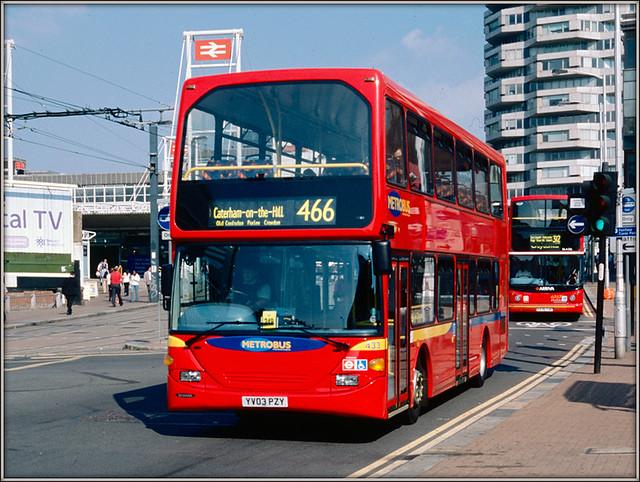 Metrobus 433, Croydon