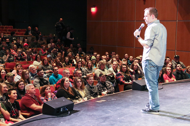 Charlie Berens at the Weidner Center