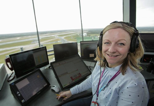 Sarah Stone Air Traffic Controller | by BreakingTravelNews