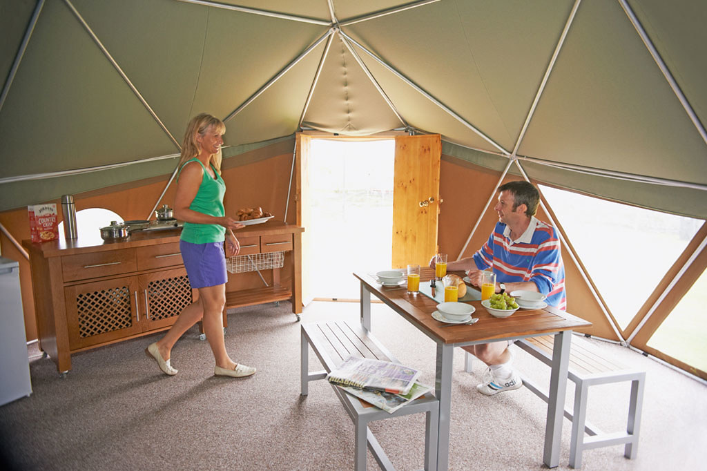 Glamping At Perran Sands Holiday Park