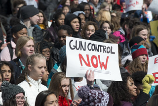 March For Our Lives student protest for gun control | by Fibonacci Blue
