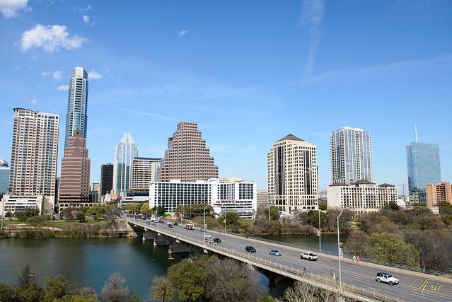 South Congress Ave. Bridge in Austin