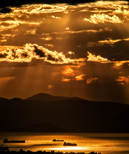 Piraeus Sunset | by Giovanni C.