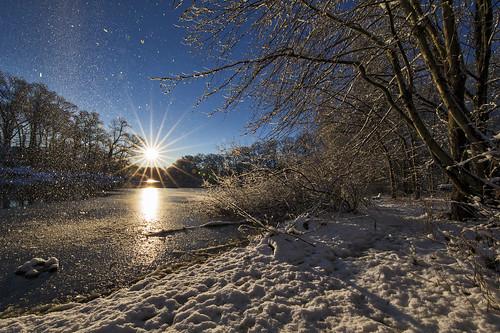 sunrise sun lake miltonlake rahway newjersey nj flare